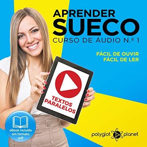 Aprender Sueco - Curso de Áudio de Sueco, No. 1 [Learn Swedish - Swedish Audio Course, Book 1] cover art