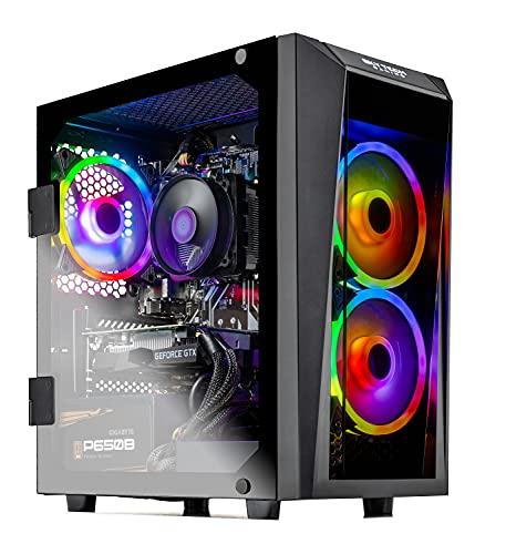 SkyTech Blaze II Gaming Computer PC Desktop - Ryzen 5 3600 6-Core 3.6GHz, GTX 1650...