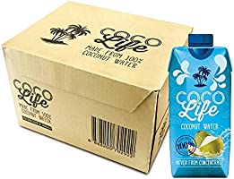 Cocolife Coconut Water, 330ml x 12