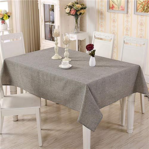 QWERTYU Baumwolltischdecke Einfache TischdeckeTeetischdeckeEsstischdecken Rechteckige TischdeckeFür Zuhause, Farbe 1.140 * 200 cm