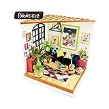 KEHUASHINA Kit de Muebles Miniatura Creativa Dollhouse de Bricolaje como Regalo de cumpleaños para niños y Adultos
