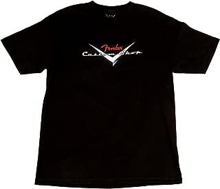 Fender Custom Shop Original Logo T-Shirt - Black - Large