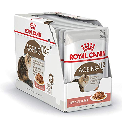 Royal Canin Frischebeutel Multipack Health Nutrition Ageing +12, 4er Pack (48 x 85g)