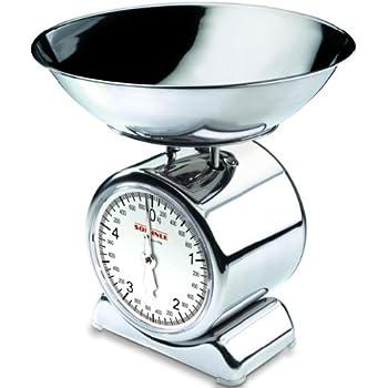 pesa de alimentos analógica