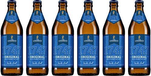 Brauerei Zum Löwenbräu - 1747 Original (6 Flaschen) I Bierpaket von Bierwohl