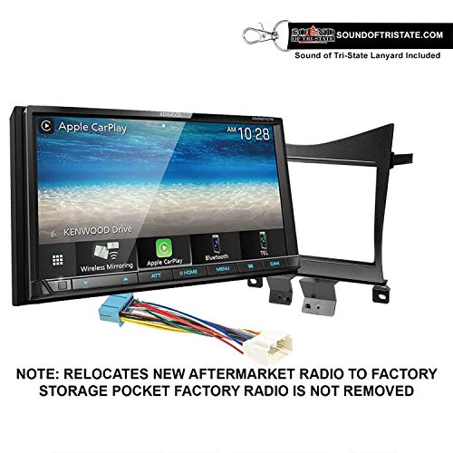 Kenwood DMX9707S Digital Multimedia Receiver + Install kit 2003-2007 Accord + Sound of Tri-State Lanyard Bundle