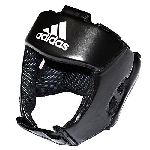 Adidas AIBA Kopfschutz/ Sporthelm, Schwarz, X-Large