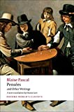 Pascal, B: Pensees and Other Writings (Oxford World?s Classics) - Anthony Levi
