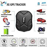 TKMARS Car Tracking Device Magnetic, Long Battery GPS Tracker for Vehicles Truck, Hidden