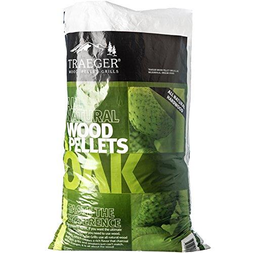 Traeger Madera dura pellets roble, 9kg Bolsa