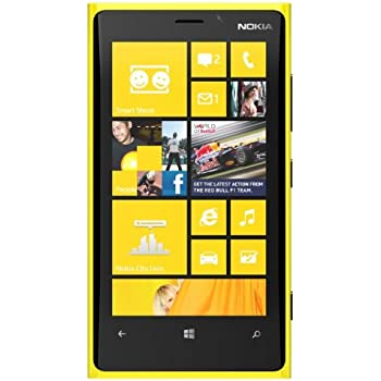 Nokia Lumia 920 32GB Unlocked GSM Windows 8 Smartphone w/ Carl Zeiss Optics Camera - Yellow