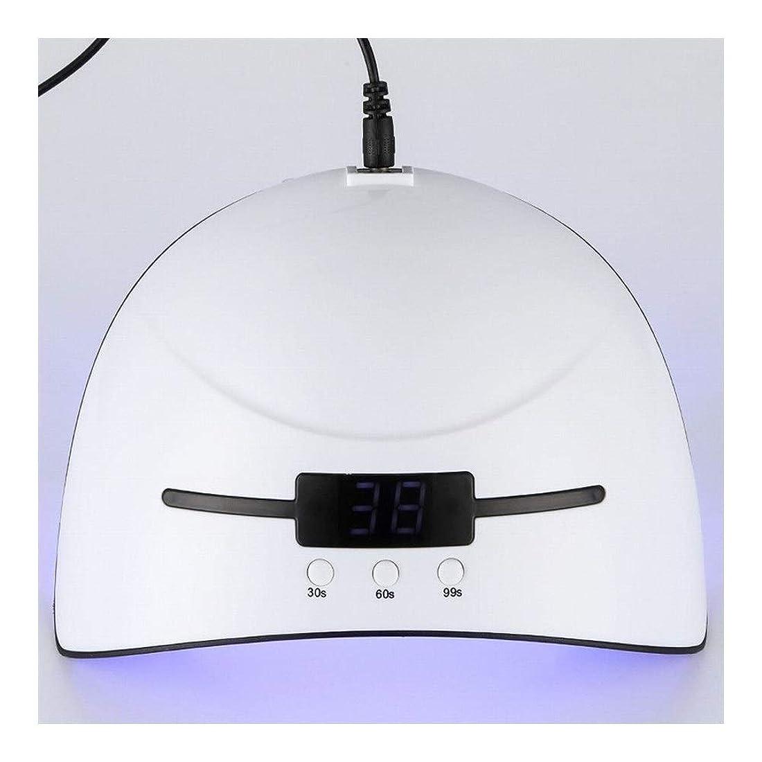 トリップ里親葉を拾うYESONEEP ネイル光線療法機36ワットインテリジェント誘導ledドライヤーネイルポリッシュ光線療法のりマニキュア光線処理焼くライトツール (Size : 36W)