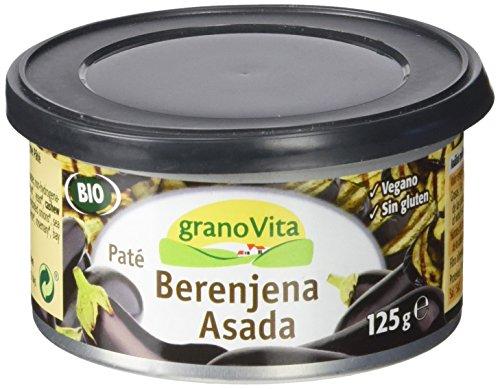 Granovita Pate Berenjena Asada Bio - 125 gr
