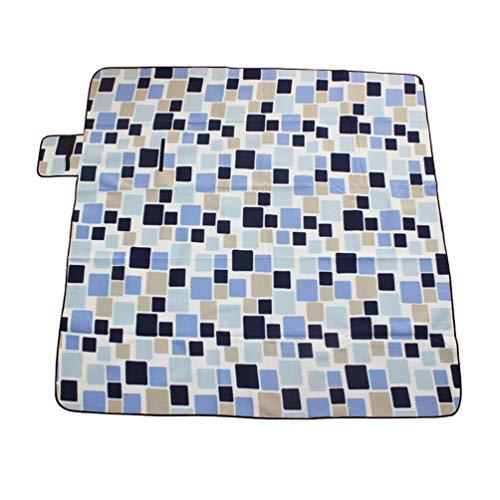 Sentaoa Couvertures de Plage Pliable Portable Lavable Nappe Tapis de Tente pour Le Voyage ou Le Camping 200 * 300cm