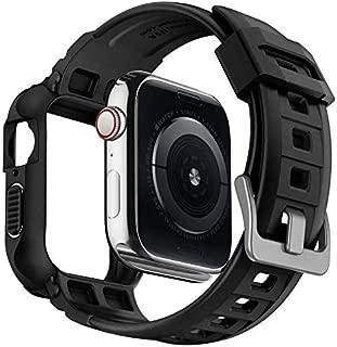 Spigen Rugged Armor Pro Designed for Apple Watch Case for 44mm Series 4 (2018) - Black