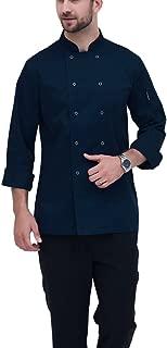 Best chef coat blue Reviews