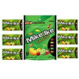 Mike and Ike Candy Bulk Mix, Original Fruits Chewy Assorted Fruit Flavored Candies Bundle, 1 Stand Up Resealable Bag and 6 Mini Boxes