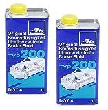ATE Set of 2 Brake Fluid DOT4TYP200