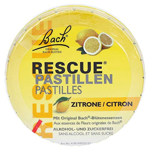 Bach Original Rescue Remedy Pastilles Lemon 50g