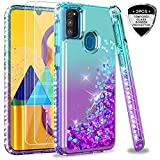 LeYi for Samsung Galaxy M30S Case with Tempered Glass