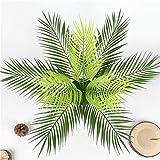 Homyl Grün Kokosnuss Palmblätter Kunstblätter Deko Künstliche Blätter - 3 - 7