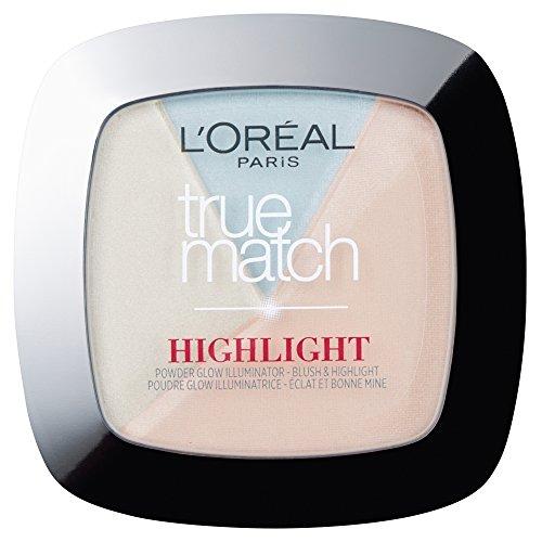 L'Oreal True Match Highlight Powder Glow Illuminator (302.R/C Icy Blow) 9gr