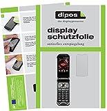 dipos I 6X Schutzfolie matt kompatibel mit Kyocera Torque X01 Folie Bildschirmschutzfolie