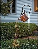 SKYWPOJU Luces de Hadas Impermeables lámparas de jardín al Aire Libre regadera lampion Luces de Hadas con batería decoración de jardín Luces de Hadas para jardín al Aire Libre