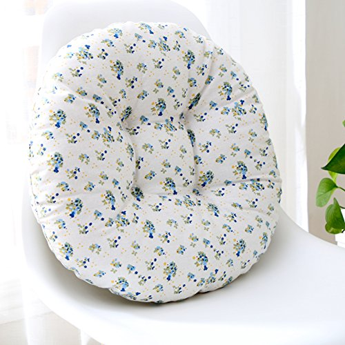 ZMIN beddengoed katoen verdikt zitkussen, natuurlijk ademend zitkussen zitkussen volledige kleur Japanse Futon ronde tatami vloerbedekking kussen voor Yoga Home