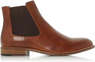 Dune Mens MACAULEY H Chelsea Boots Block Heel