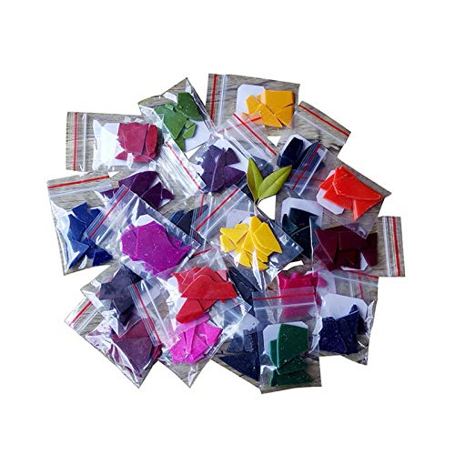 M/P Tintes para Velas, Tinte de Cera para Bricolaje, 24 Colores, Tinte para Velas para Hacer Velas, Kit de Suministros, Manualidades, Cera de Soja, Tinte para Velas, fabricación de Velas perfu