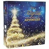 Tee Adventskalender mit 24 x loser Tee für einen Kannenaufguß 2020 | Tee im Advent - 24 Beutel à...