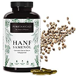 """💚 IMPORTANT CONTRIBUTION FOR CARDIOVASCULAR HEALTH: Hemp oil is a vegetable source with a high content of essential fatty acids (84.2%). Contains Omega-3 and Omega-6 in the """"golden"""" ratio of 1:3 and is therefore a very good alternative to fish oil ca..."""