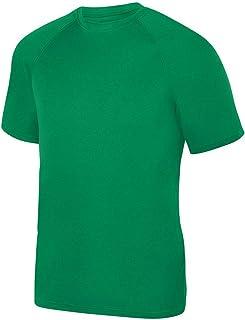 Augusta Sportswear Men's Wicking Tee Shirt, White, Large