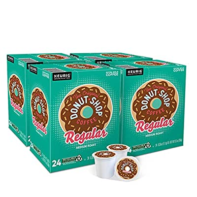 The Original Donut Shop Regular, Single-Serve Keurig K-Cup Pods, Medium Roast Coffee, 96 Count