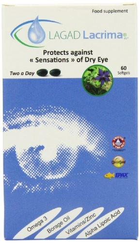 Lacrima Dry Eye Softgel Supplement - 60 Softgels