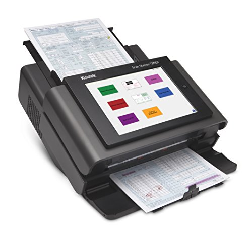 For Sale! Kodak ZH0122 Scan Station 730EX Document Scanner - Desktop - Black