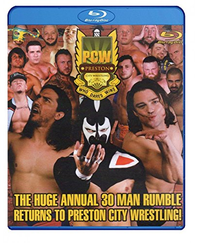 PCW - PRESTON CITY WRESTLING - Who Dares Wins 30 Man Rumble 2014 BLU-RAY