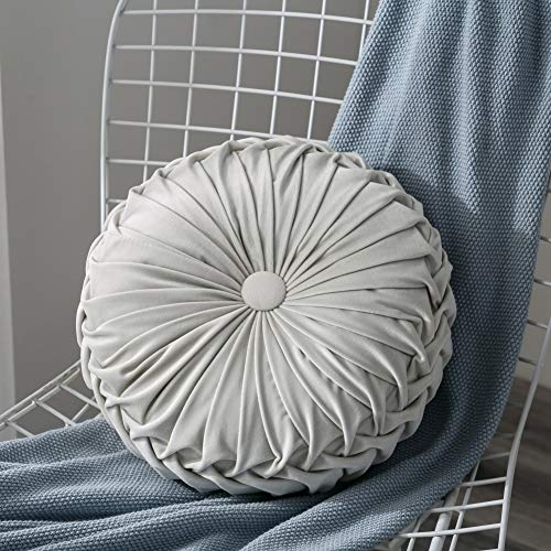 Home 13.7' Round Throw Pillow - Lucoss Handcrafted Pumpkin...