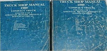 1989 Ford Shop Manual Set Ranger Bronco II Aerostar Original Repair Service OEM Vehicle Parts & Accessories