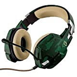 Headset Gamer Trust GXT 322C - Carus Jungle Camo