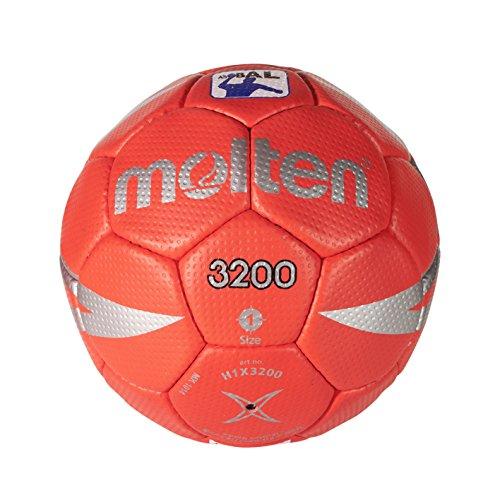0 - Handball in Rot und Grau, Größe Talla 1