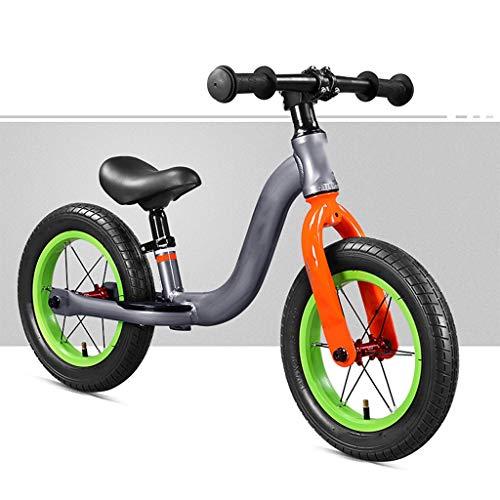 Kinderfahrrad Balance Bike For 2-4 Jährige, Aluminium Strider Bike For Kinder Und Kleinkinder Kein Pedal-Sport Training, 12 Zoll Gummi Luftreifen,For Kinder Mädchen Jungen Baby, Leichte Kinder-Fahrrad