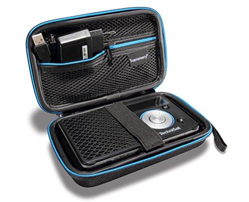 Supremery Tasche für TechniSat DIGITRADIO 1 Digital-Radio Case Schutz-Hülle Etui Tragetasche