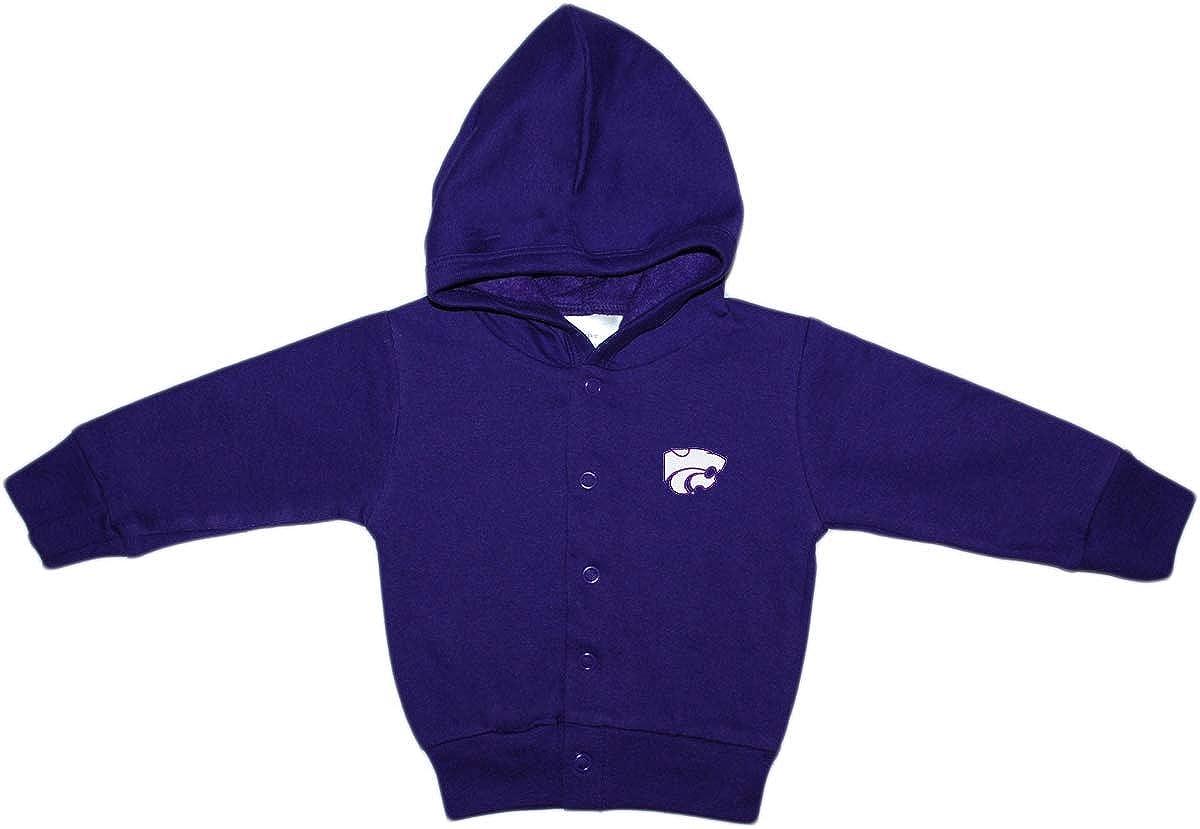 Kansas Finally resale start State University Wildcats Baby Ja and Snap Hooded Toddler Popular brand