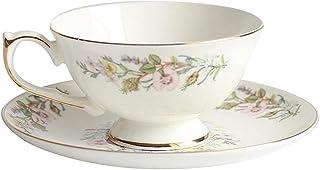 Bone China Coffee Cup Handmade High Temperature Milk Cup Black Tea Cup Hot Cocoa Cup Home Afternoon Tea Set Latte Cappucci...