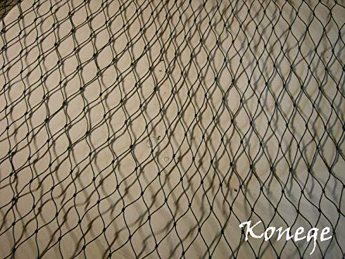 Volierennetz, Vogelschutznetz, Geflügelnetz 10,0m x Breite wählbar, 5,0cm Maschenweite, geknotet