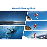 VanTop Moment 4U 4K Action Camera 20MP Underwater Waterproof Camera with EIS, External Microphone, Touch Screen, Slow… 11 Fabulous 4K Action Camera: Featuring professional 4K/30FPS video and 20MP photo resolution, VanTop Moment 4U action camera captures crystal clear and sharp footages for your adventures. The IPS touch screen and humanized operating interface make it easier to set up the camera. Just enjoy the moment for you Hyper-Stable EIS Technology: Built-in advanced Electronic Image Stabilization (EIS) helps to counteract any bump, shake or camera tilt and delivers shake-free, extremely stable and stunning videos. VanTop Moment 4U action camera is built for movements and adventures Waterproof Up to 100FT: You can explore the mysterious submarine world with this underwater camera with its included high quality waterproof case on. It is ideal for water sports such as snorkeling, diving, swimming, surfing, etc. Snap the moments you can't get with your phone with this VanTop Moment 4U