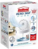 3 X AERO 360º Moisture Absorber, Ultra-Absorbent dehumidifier, Helps to Prevent Condensation, Mould & Musty Smells, refillable Condensation Absorber, 1 Device incl. 1 Refill tab 450g