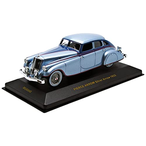 IXO 1:43 Scale 1933 Pierce Arrow Model Car (Silver)